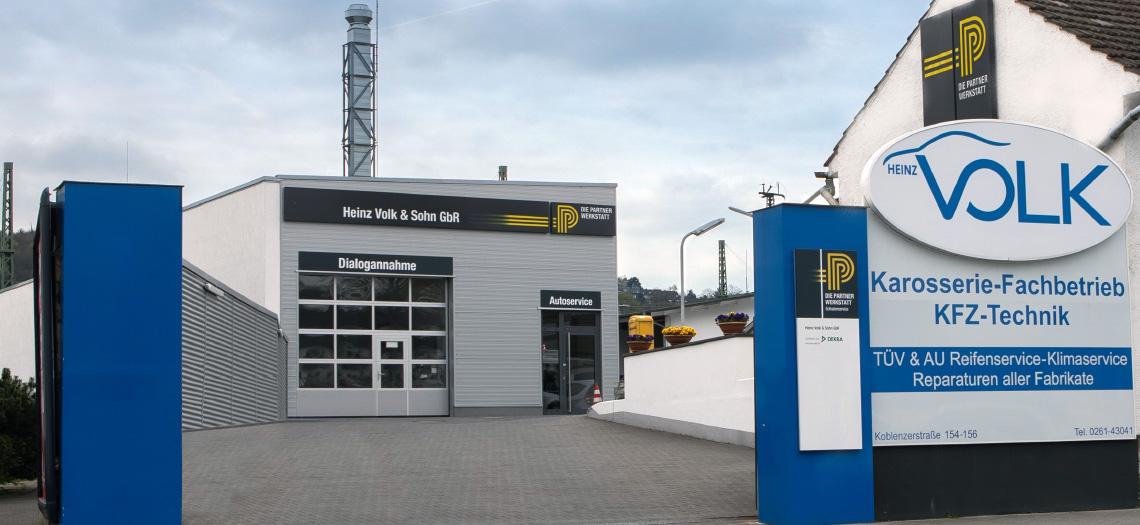 Heinz Volk & Sohn - Karosserie-Fachbetrieb